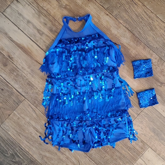 Weissman Other - Flapper dance outfit, one piece with boyshorts